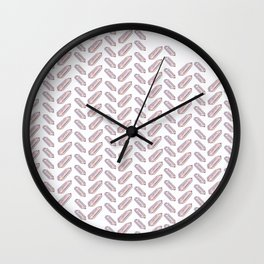 Quartz Fishbone Wall Clock