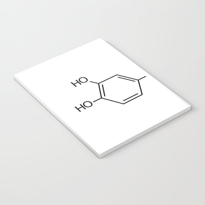 dopamine chemical formula Notebook