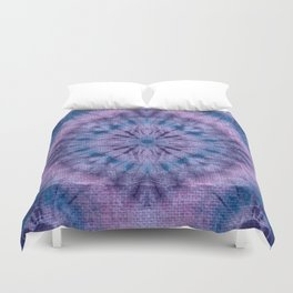 Purple Tie Dye Duvet Cover