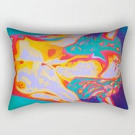 The Art of Orgasm  Rectangular Pillow