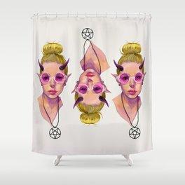 Monster Girl #3 Shower Curtain