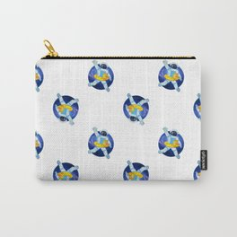 Float in space pattern Carry-All Pouch