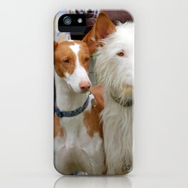 Two Coats - Same Breed iPhone Case