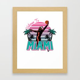 "The Victrs ""Welcome To Miami"" Framed Art Print"