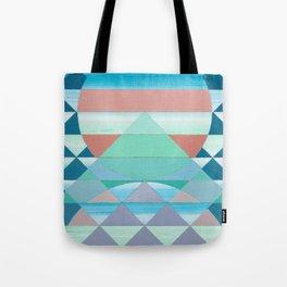 Pyramid Sun Orange Tote Bag