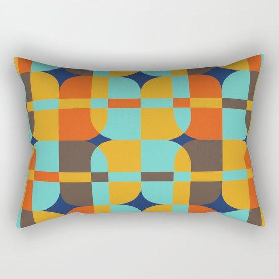 Geometric#20 Rectangular Pillow