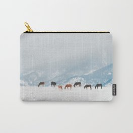Winter Pastures Carry-All Pouch