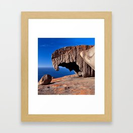 Remarkable Rocks, Kangaroo Island,South Australia Framed Art Print