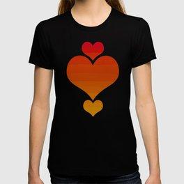 Warm Sunset Gradient T-shirt