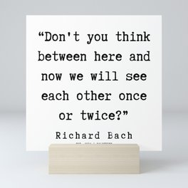 61  | Richard Bach Quotes | 190916 Mini Art Print