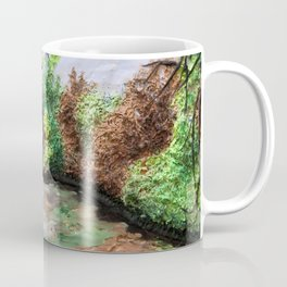 Early Spring - polymer clay painting Coffee Mug