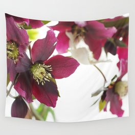 Flower impression Wall Tapestry
