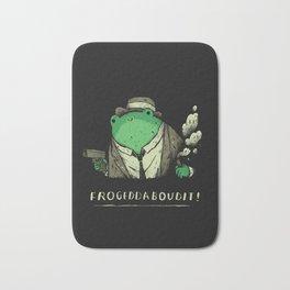 Frogeddaboudit! Bath Mat