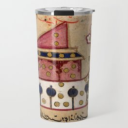 Constellation Argo Navis (ship) from Persian Manuscript 373 Travel Mug