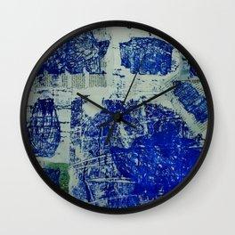A Stone Hedgehog Wall Clock