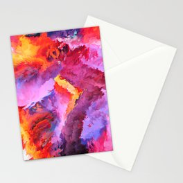 Sōtḗrios (Abstract 34) Stationery Cards
