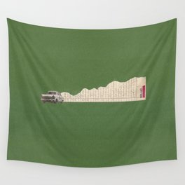 Torn Around - Racing Car Wall Tapestry