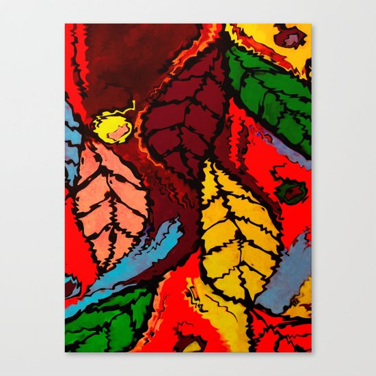 Nature's Explosion Canvas Print