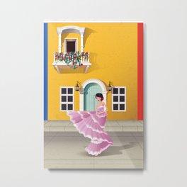 Ciudad Heroica: Cartagena de Indias Metal Print