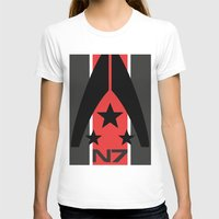 n7 T-shirts featuring N7 MASS EFFECT by MDRMDRMDR