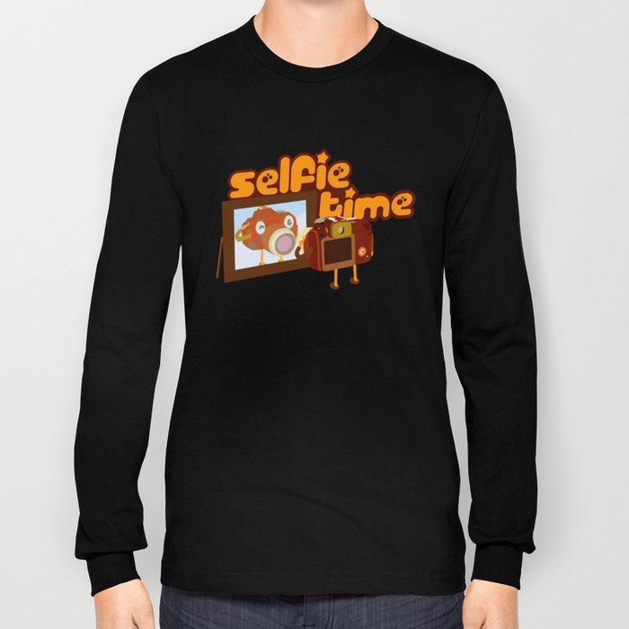 Selfie Time Long Sleeve T-shirt