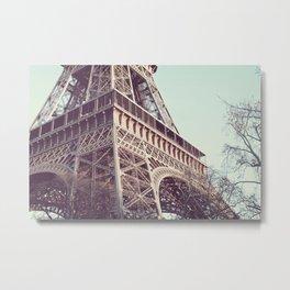 Daydreams at the Eiffel Metal Print