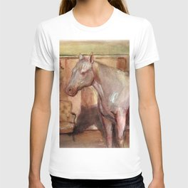 horse scene  T-shirt