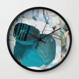 Wormhole Detritus Wall Clock