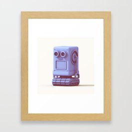 Bot Boy Framed Art Print