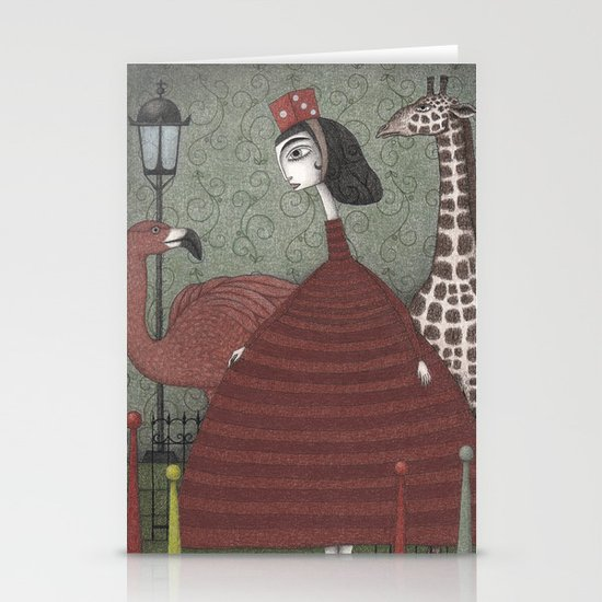 Sunday Excursion to the Zoo Stationery Cards