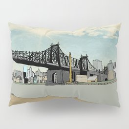 Manhattan, New York City Pillow Sham