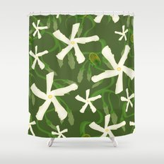 Jasmines & Junebugs Shower Curtain