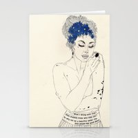 murakami Stationery Cards featuring You Are An Empty Vessel by Kaethe Butcher