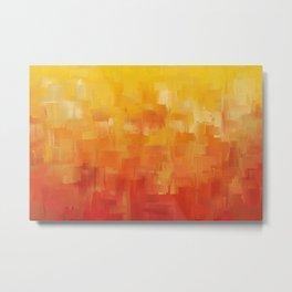 Awaken - Abstract Expressions Art by Jai Johnson Metal Print