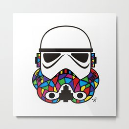 What a Trooper Metal Print