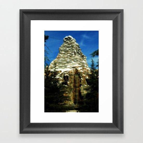 Matterhorn II Framed Art Print