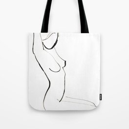 Nude Model Drawing Tote Bag