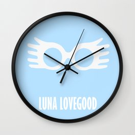 Luna Lovegood Wall Clock