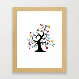 Love Blossoms - Adolescence Framed Art Print