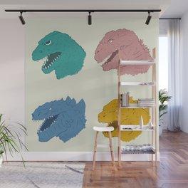 Godzilla Evolution Wall Mural