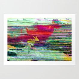 Fawn's World Art Print