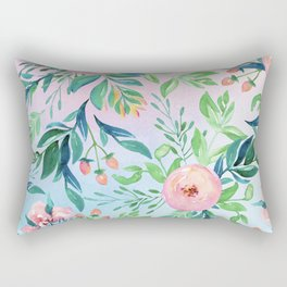 Gradient Garden Rectangular Pillow