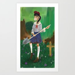 School Night Art Print