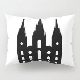 Mormon Style Temple Pillow Sham