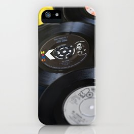 Sounds of the 70s III iPhone Case