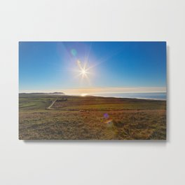 Solar Sentinel of Point Reyes Metal Print