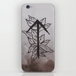 Warrior Rune iPhone Skin
