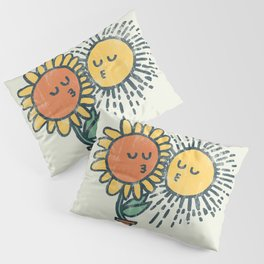 Sun Kissed sunflower Pillow Sham
