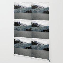 TEXTURES -- A Face of Portage Glacier Wallpaper