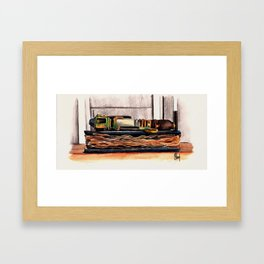 Every Song Ends - no text Framed Art Print
